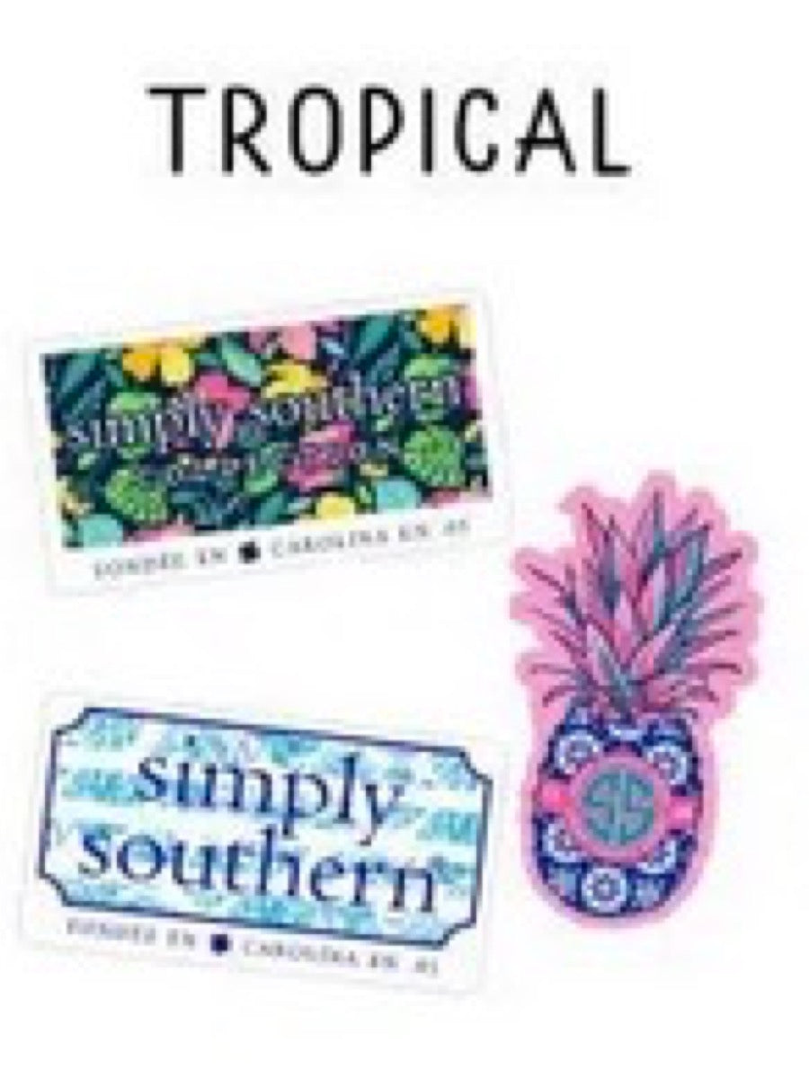 Simply Southern Sticker 3 Pack