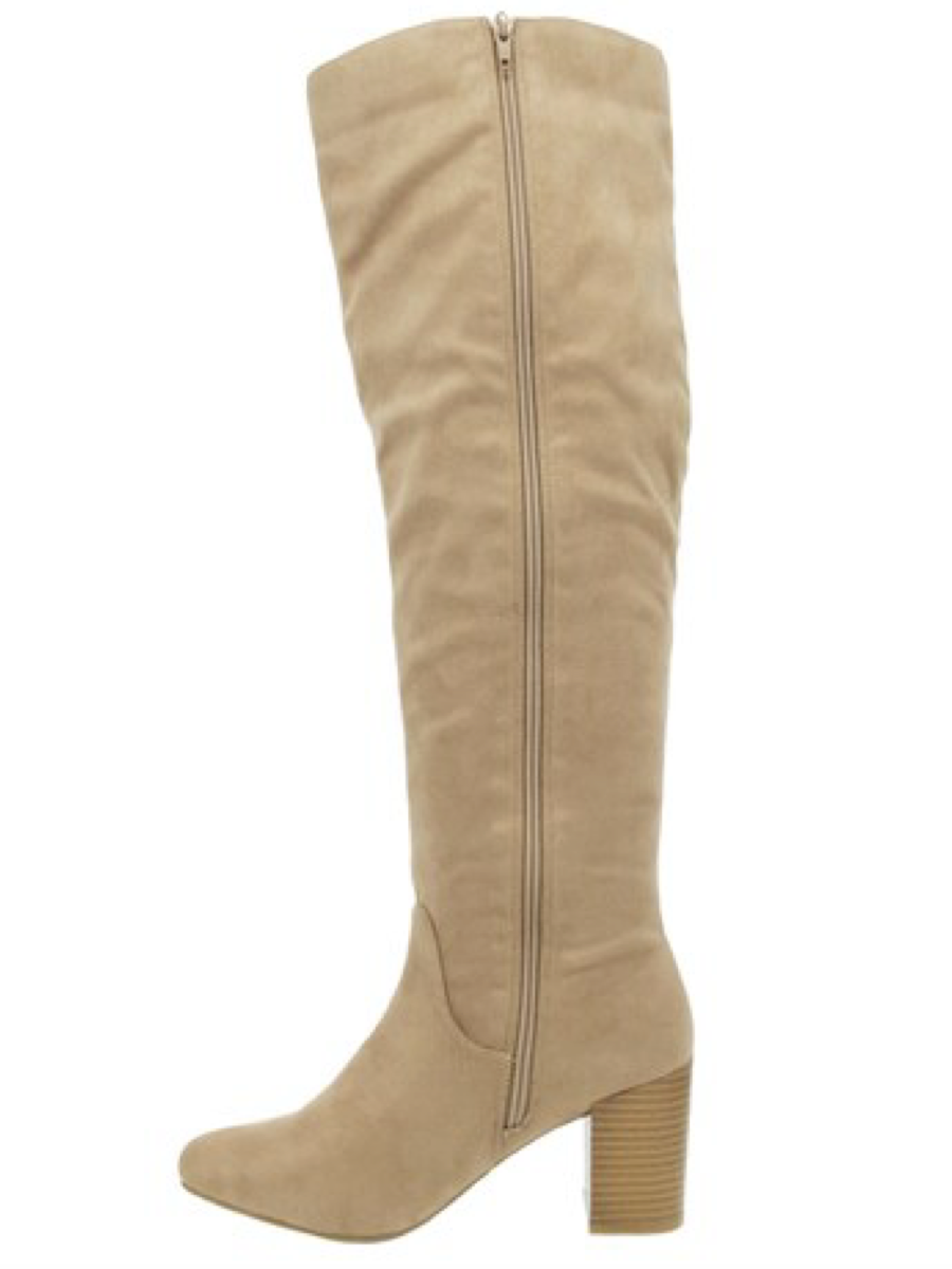 Sugar Macon Knee-High Boot Taupe