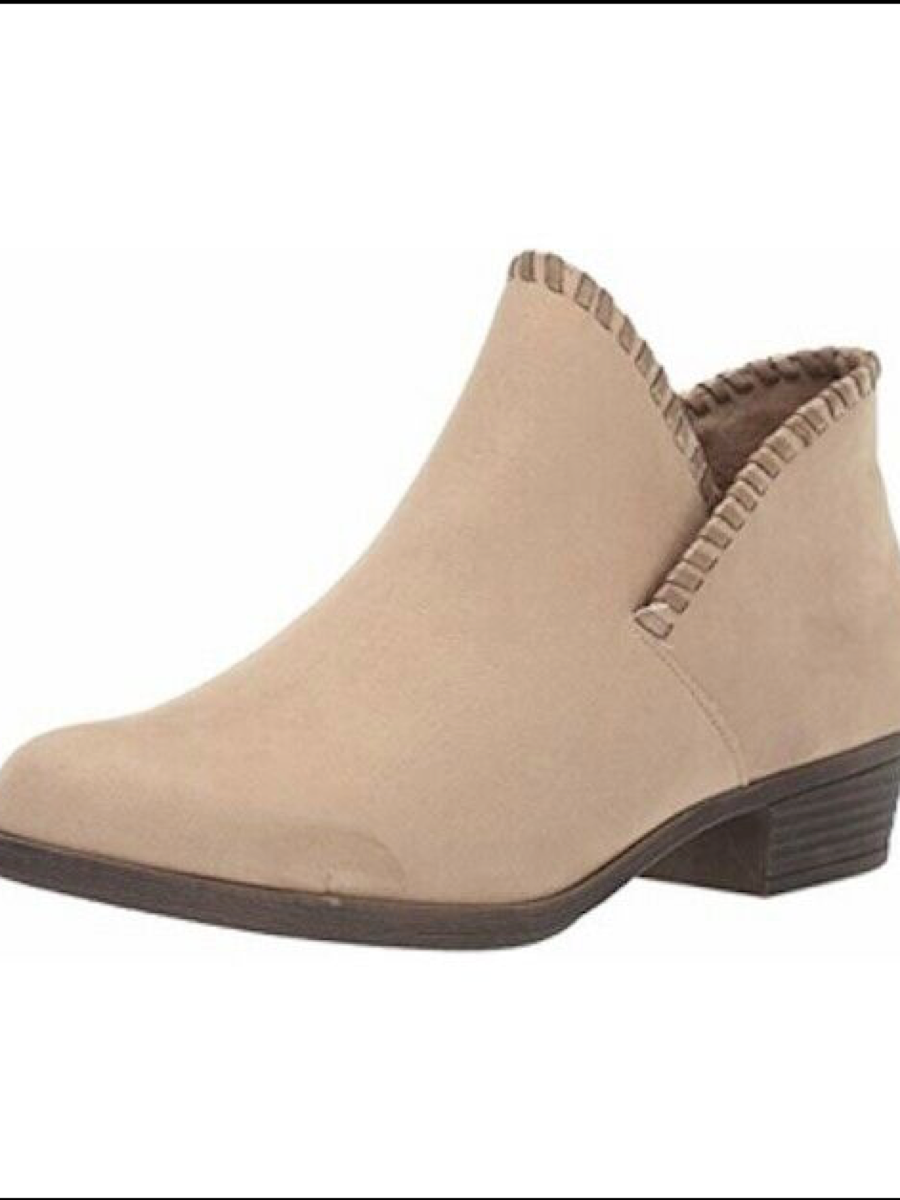 Sugar Tametha Stitched Bootie Taupe