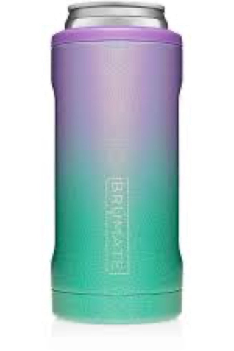 Brumate Hopsulator Slim  Glitter Mermaid
