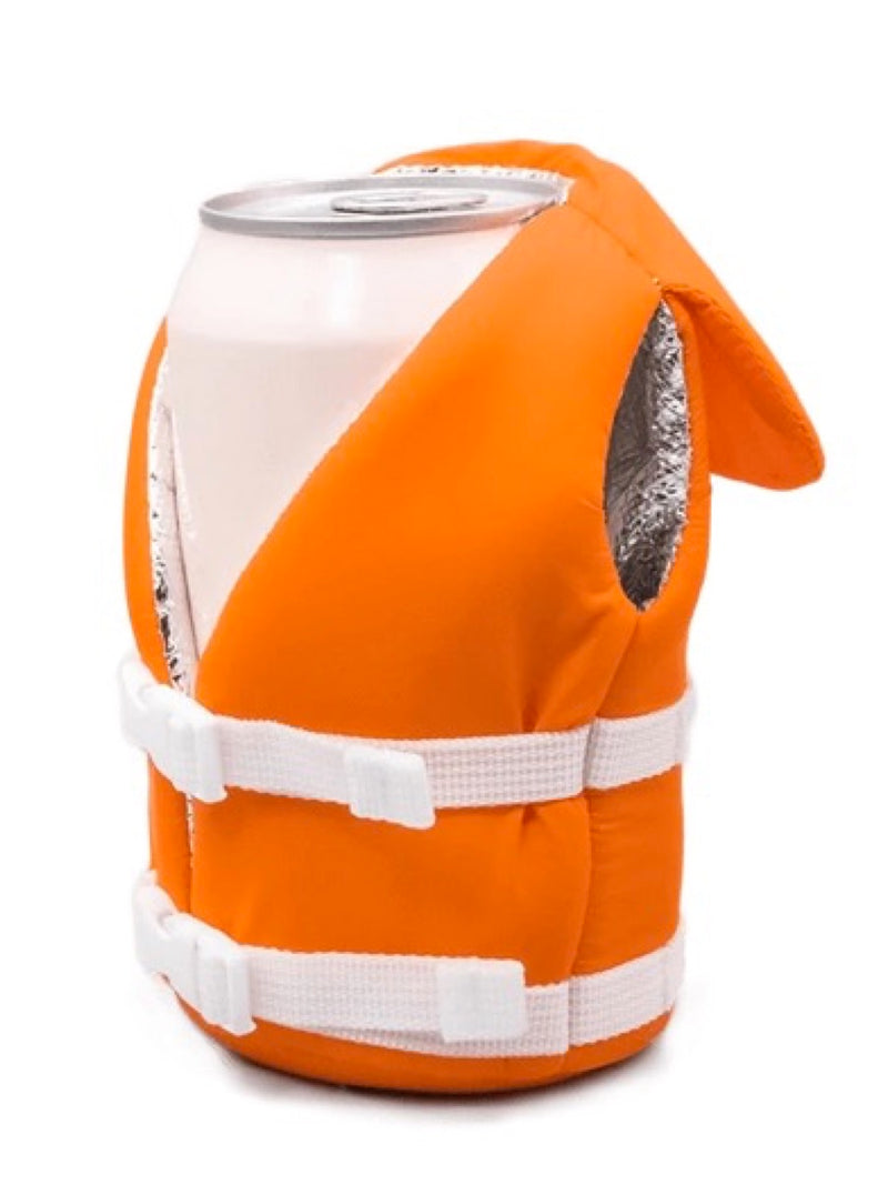 Puffin Life Vest Coozie