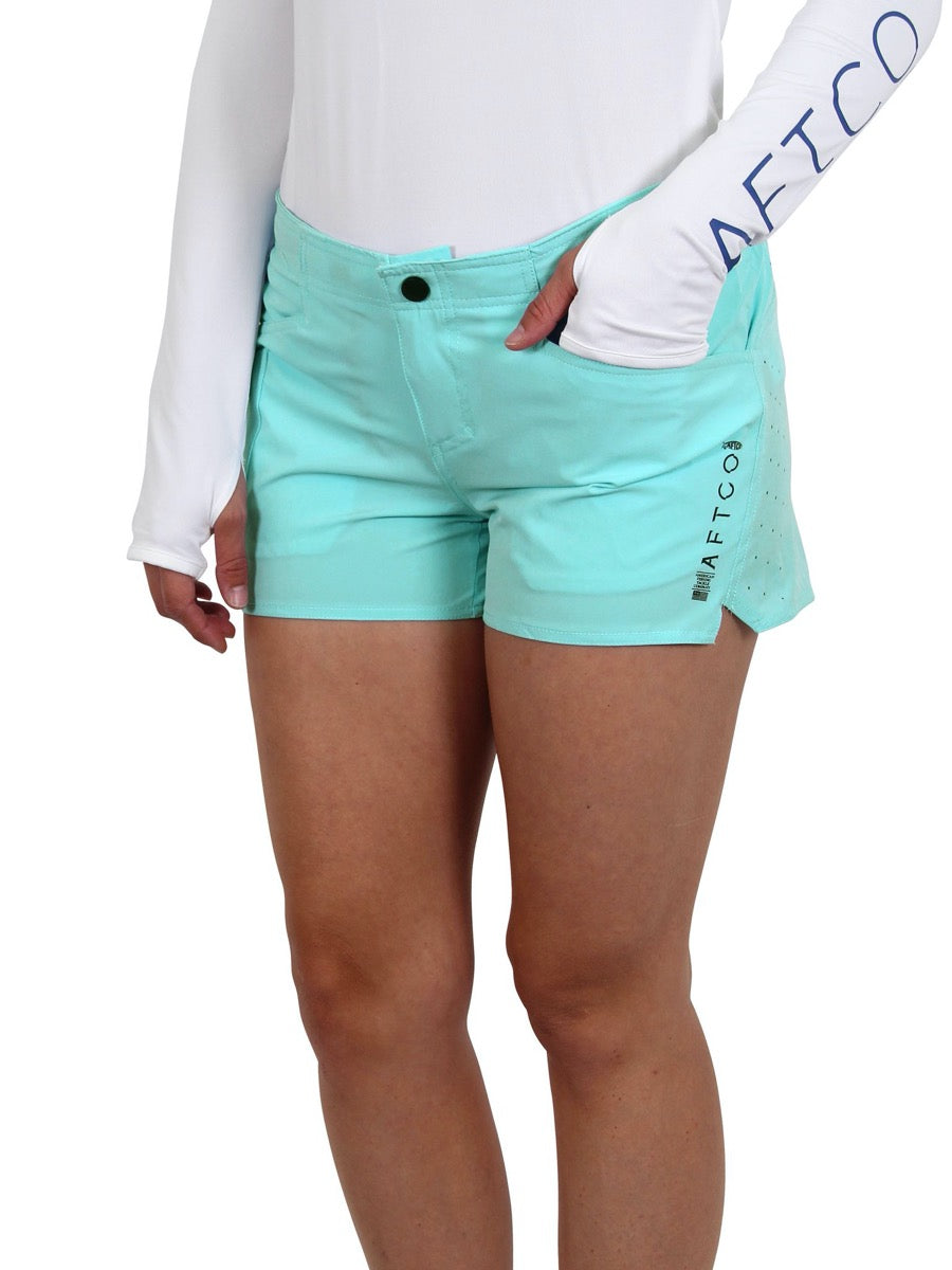 Aftco Women's Microbyte Fishing Short