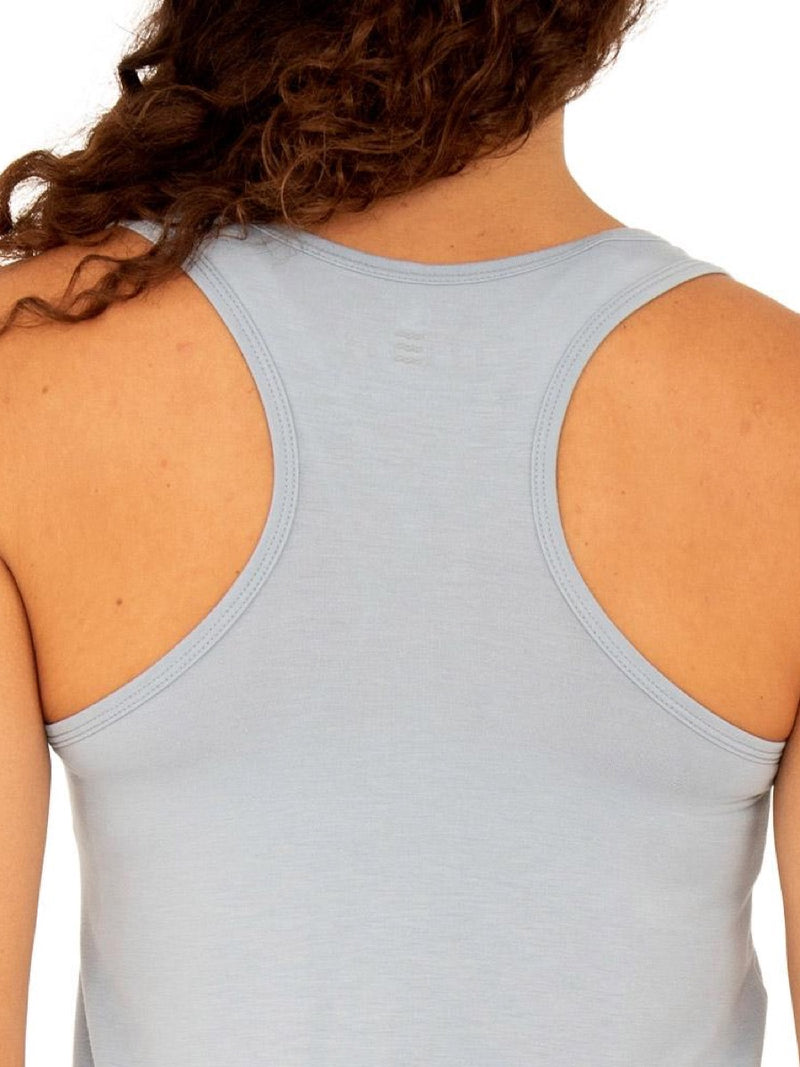 Free Fly Women's Bamboo Racerback Tank -Cays Blue