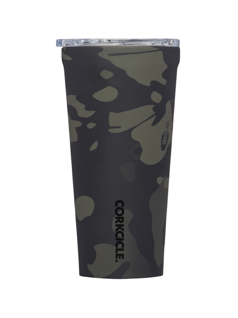 Corkcicle 24oz tumbler Black Camo