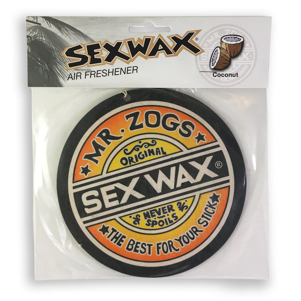 ZOG Sex Wax 5.5 inch Air Freshener -Coconut