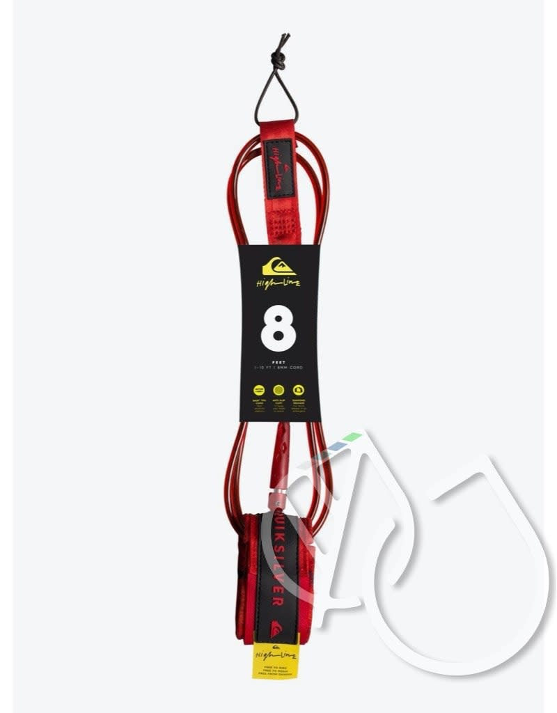 Quiksilver Highline - Surfboard Leash 8'