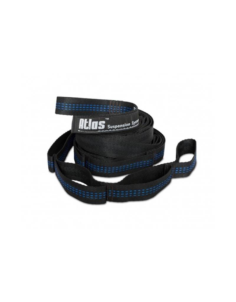 ENO Atlas Hammock Suspension Straps Black/Royal