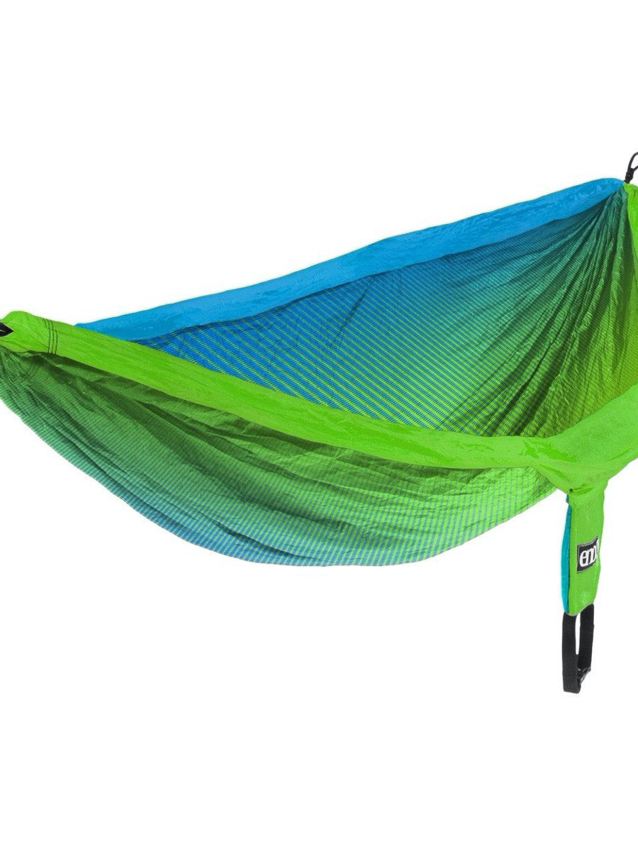 ENO Doublenest Print Fade Teal/Chartreuse