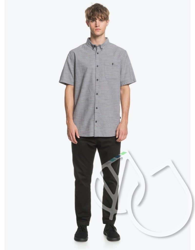 Quiksilver Firefall Short Sleeve Shirt -IRON GATE (kzm0)