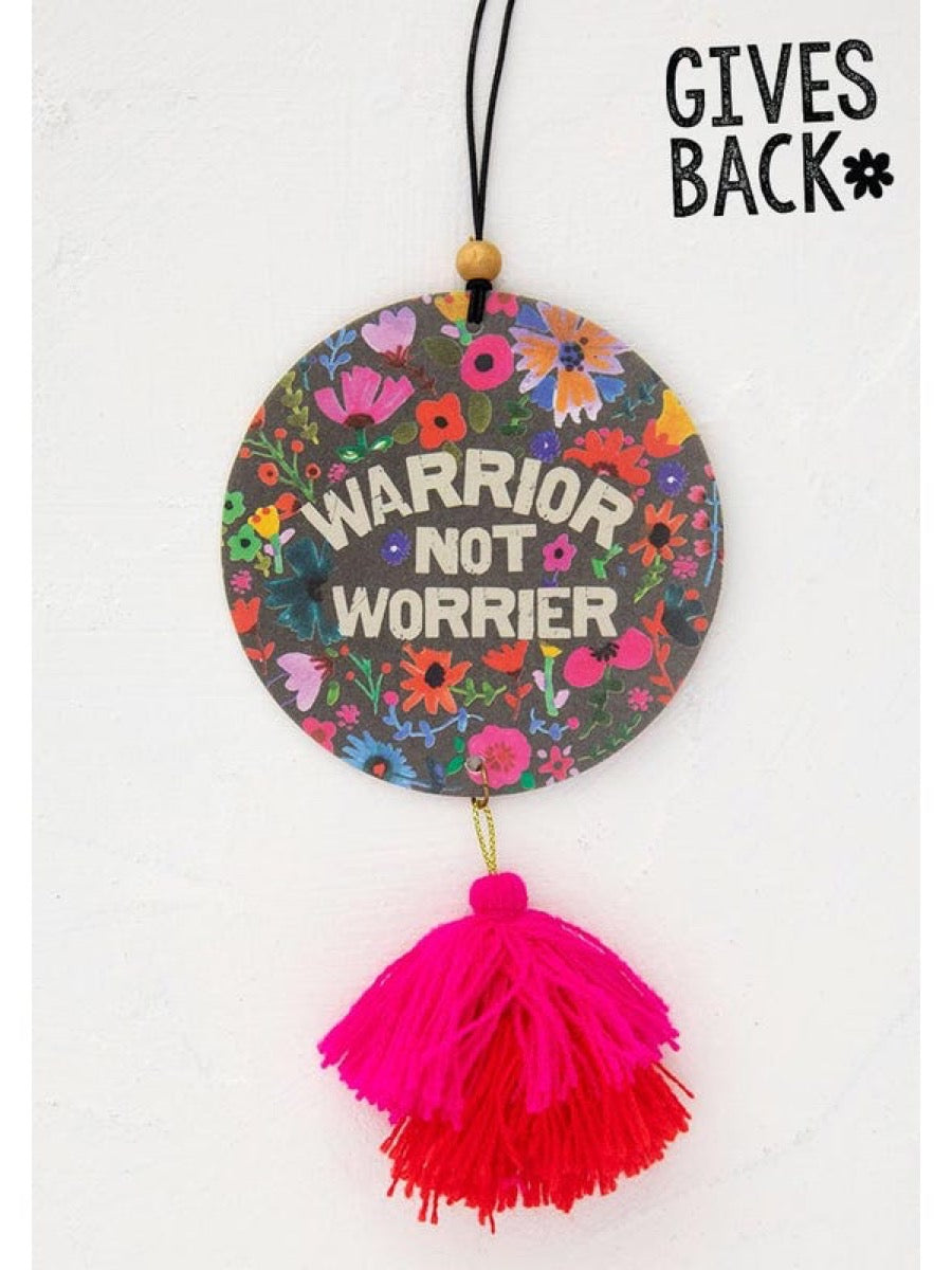 Natural Life Air Fresheners Warrior Not Worrier