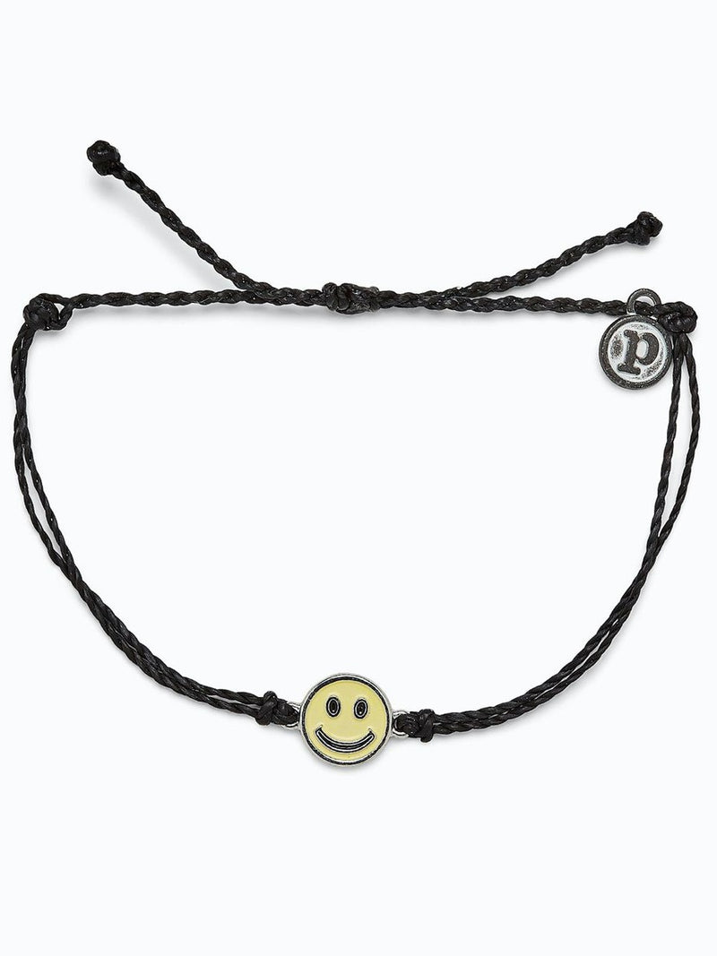 Pura Vida Happy Face Charm