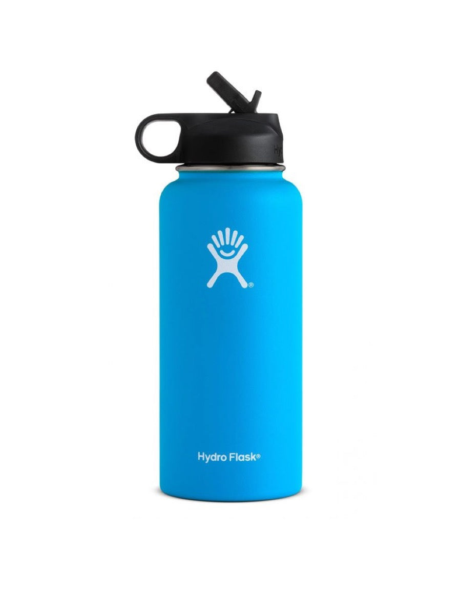 Hydro Flask 32oz Wide Mouth w. Straw Lid