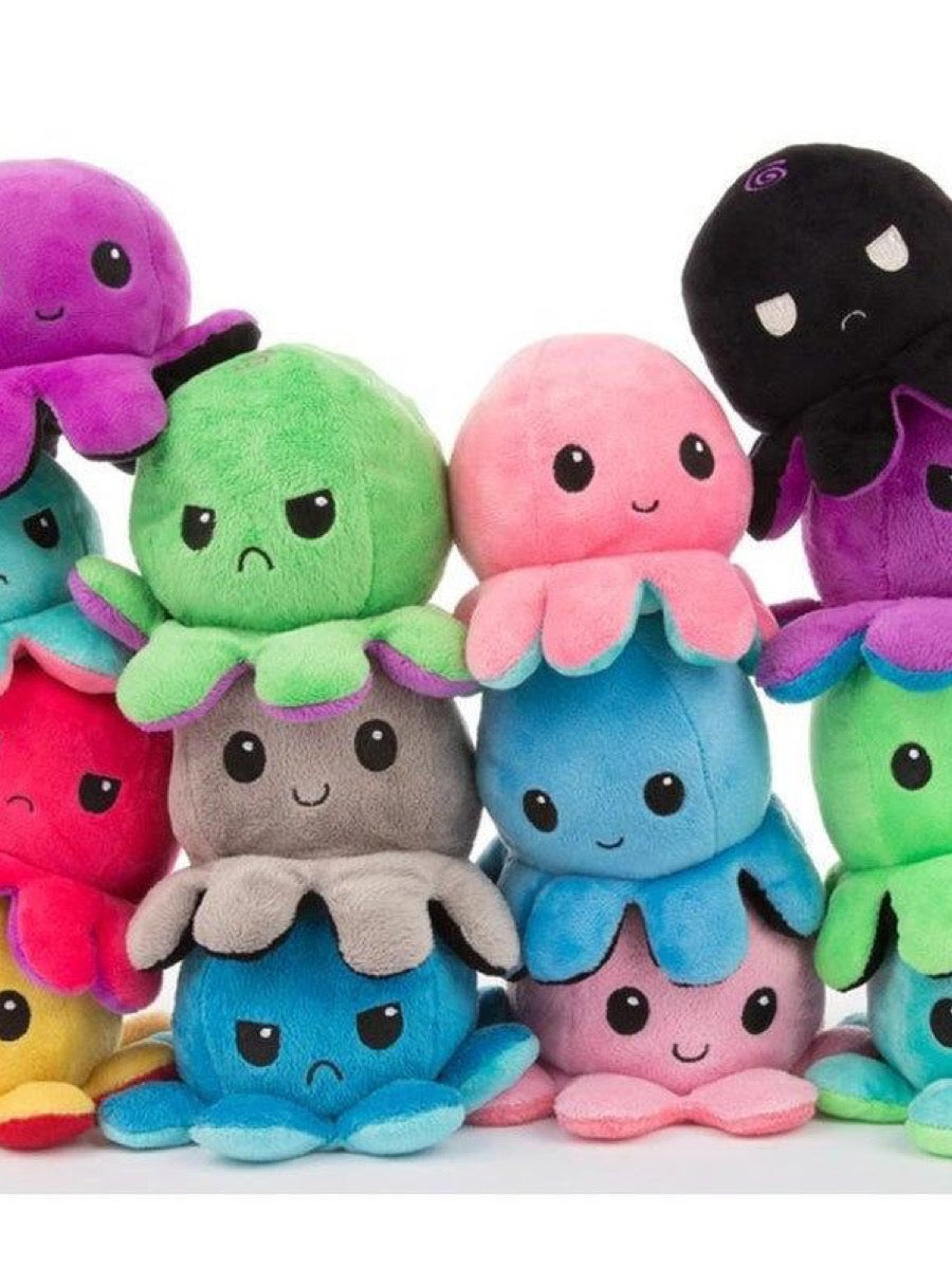 Reversible Octopus Plush fidget