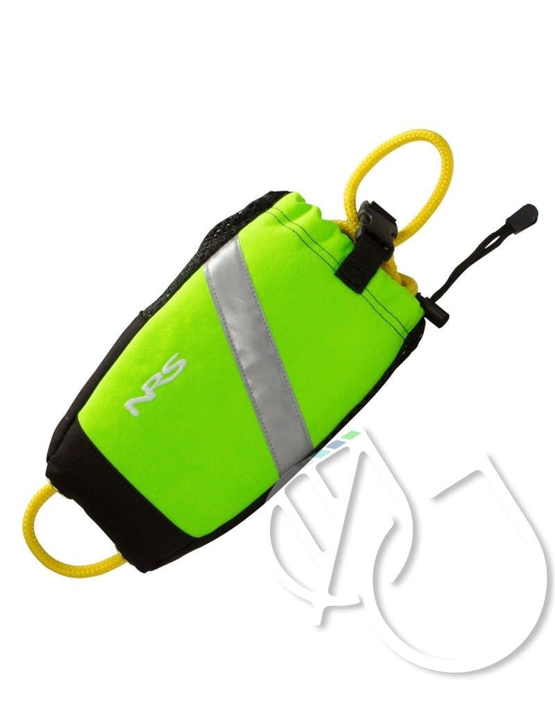 NRS Wedge Rescue Throw Bag -High Vis Green