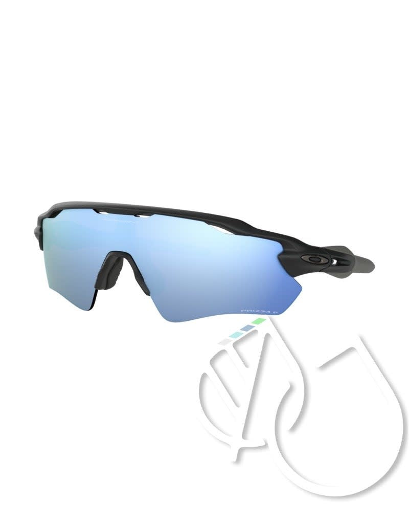 Oakley RADAR EV PATH -Matte Black Prizm -Deep Water Polarized