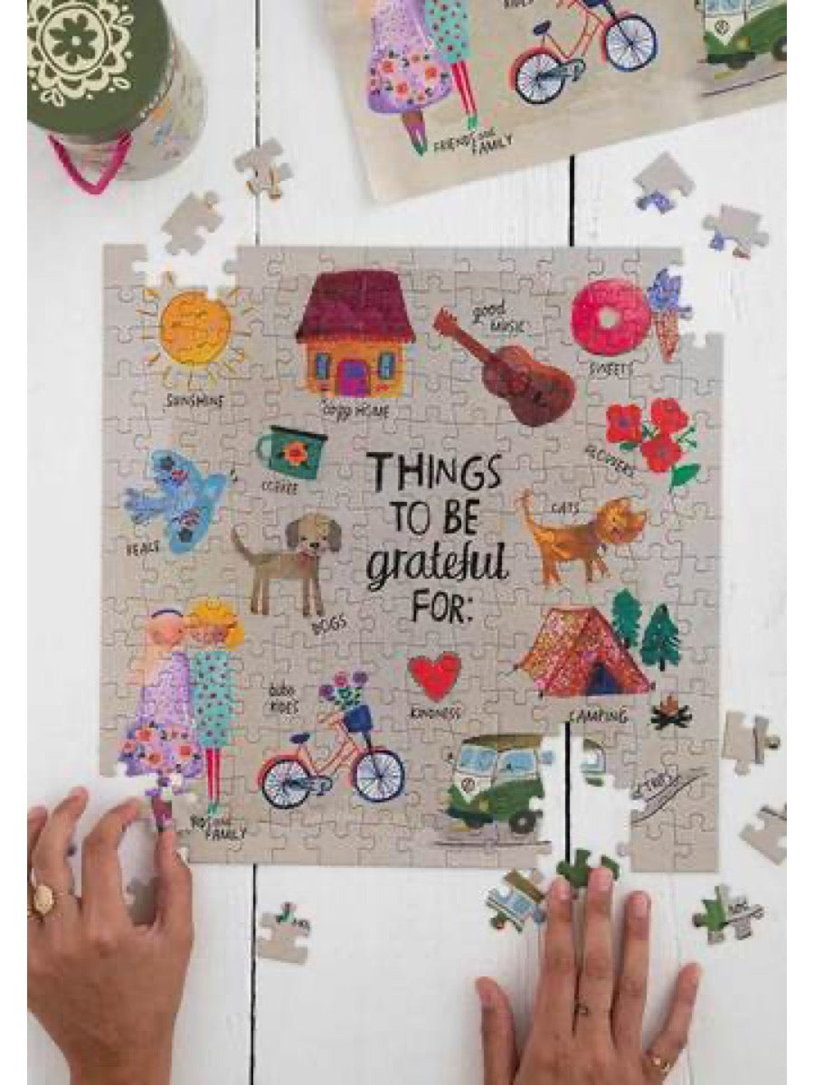 Natural Life Grateful Chirp Puzzle