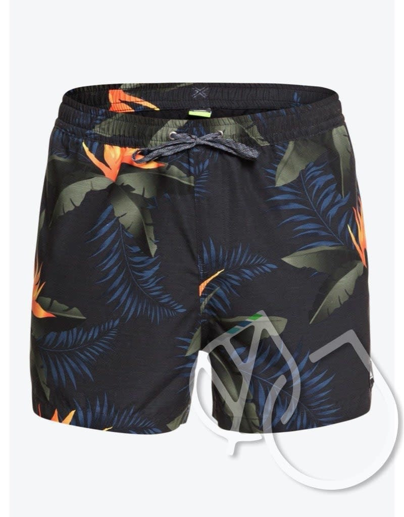 "Quiksilver Poolsider 15"" Volleys -BLACK (kvj6)"
