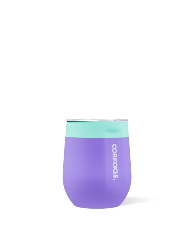 Corkcicle Stemless Colorblock -Mint Berry