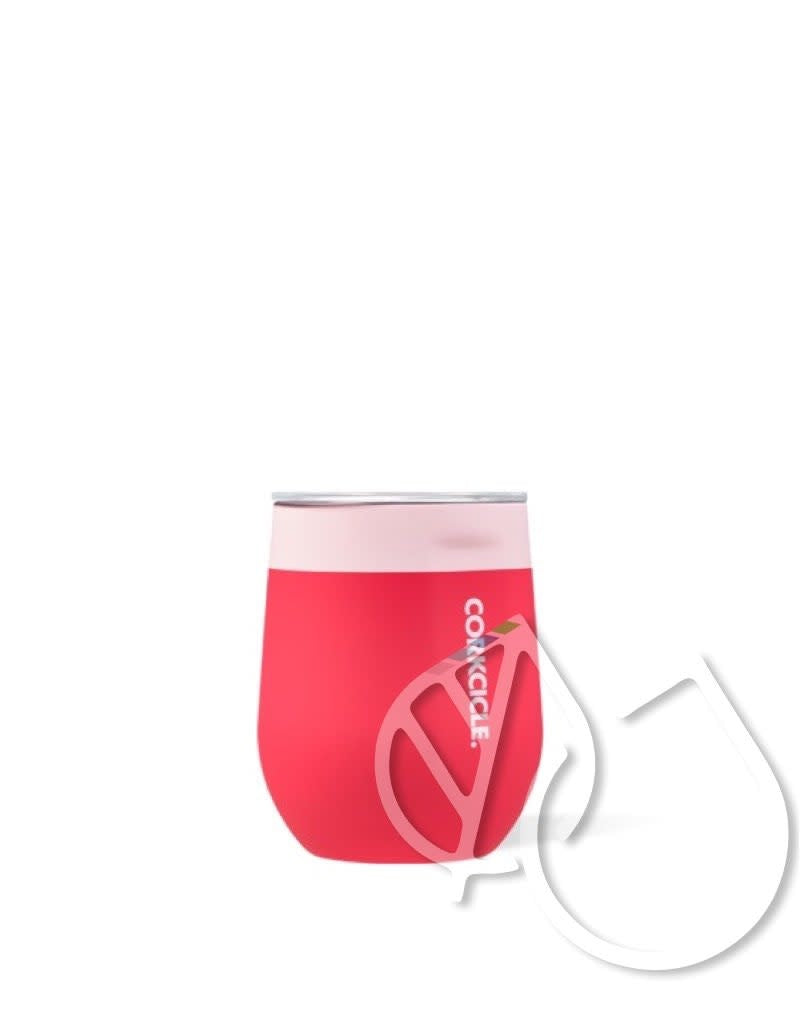 Corkcicle Stemless Colorblock -Shortcake