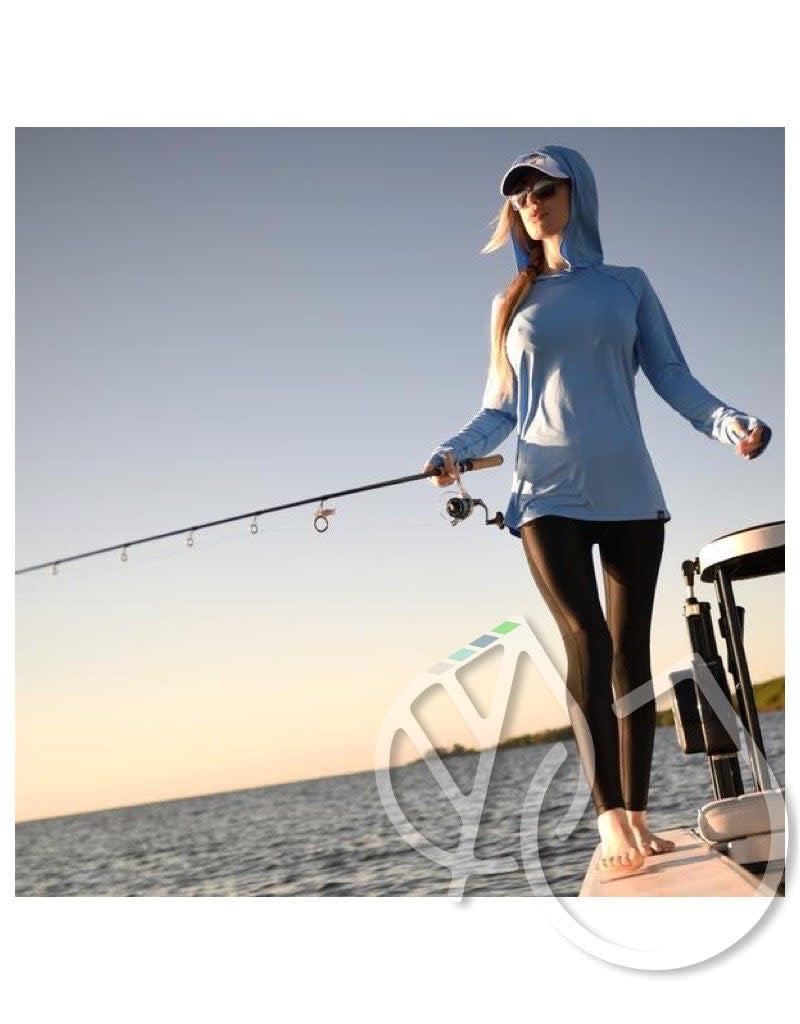 Aftco Women's Samurai hooded fishing shirt