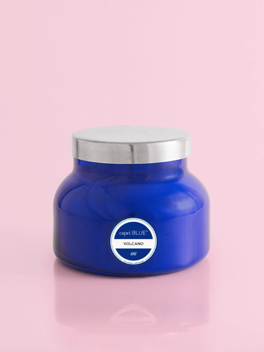 Volcano Blue Signature Jar 19 oz