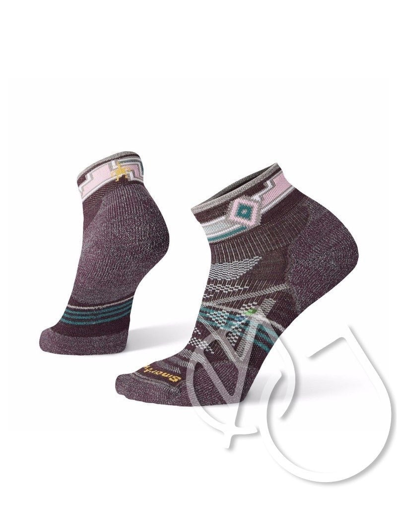 Smartwool Women PhD Outdoor Light Pattern Mini -M BORDEAUX