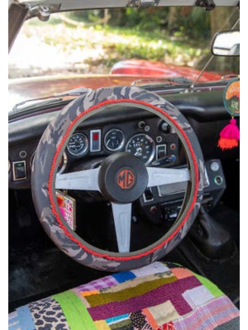 Natural Life Steering Wheel Cover Camo
