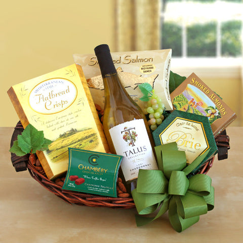 Cheers! Wine Gift Basket (Free Shipping)
