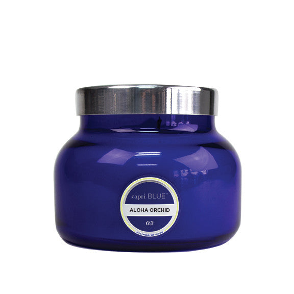 capri BLUE Signature Large Jar Candle - Aloha Orchid