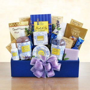 Lavendar Relaxation Spa Basket (Free Shipping)