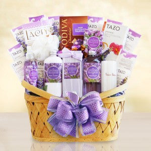 Fields of Lavender - Ultimate Spa Basket (Free Shipping)