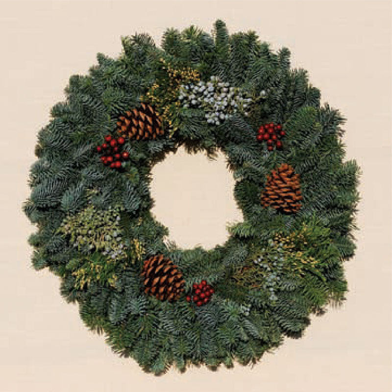 Holiday Wreath Merry Berry