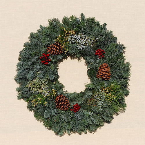 Merry Berry Holiday Wreath