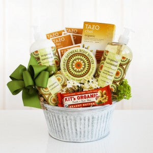 Organic Oatmeal Spa Basket (Free Shipping)