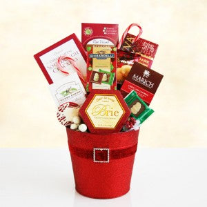 Santa's Holiday Tin (Free Shipping)