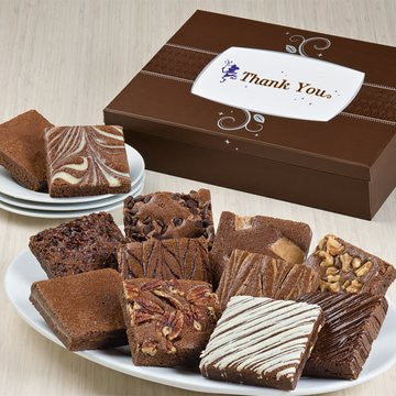 Fairytale Brownies Thank You-One Dozen Full Size Bars