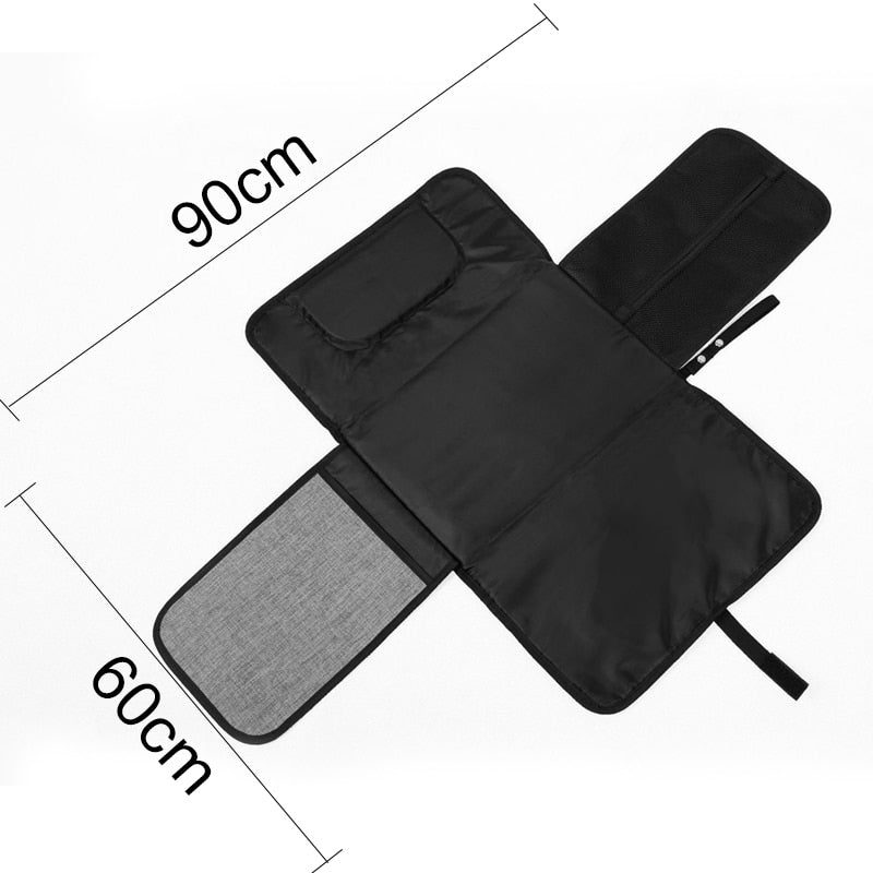 Waterproof all-in-one changing mat
