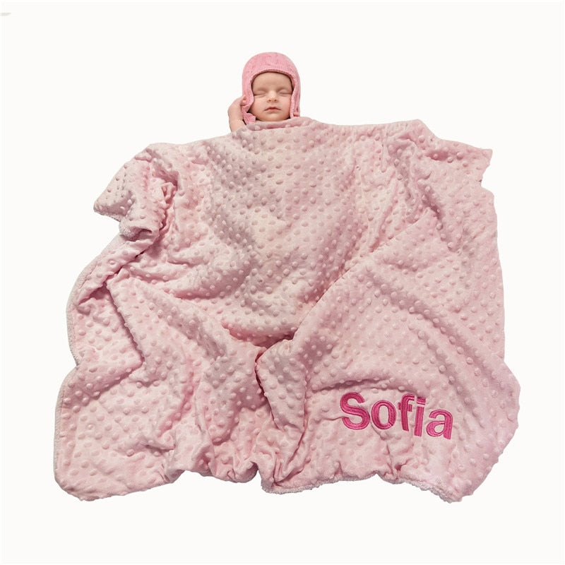 Oh So Soft NameSake Baby Blanket
