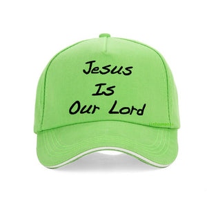 Jesus is our Lord Baseball Cap