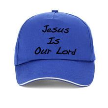 Load image into Gallery viewer, Jesus is our Lord Baseball Cap