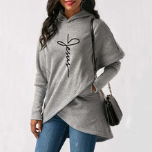 Load image into Gallery viewer, Jesus Faith Women Hoodies Sweatshirts
