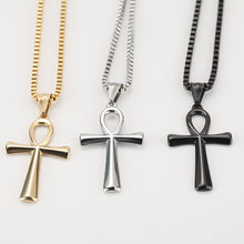 Load image into Gallery viewer, Jesus Stainless Steel Cross Necklace