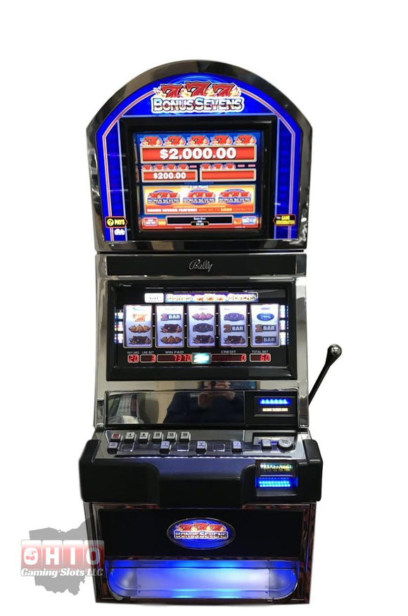 Bally Alpha 1 S9000 Bonus 7's