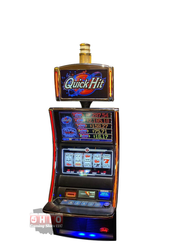 Bally Alpha 2 Curve Black and White Wild Jackpot Quickhits
