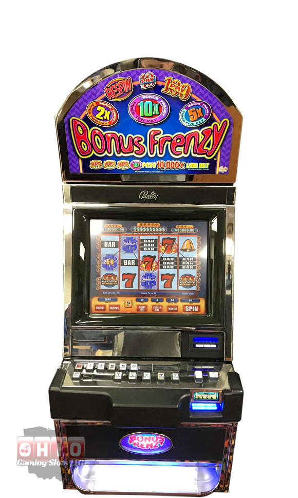 Bally Alpha 1 S9000 Bonus Frenzy