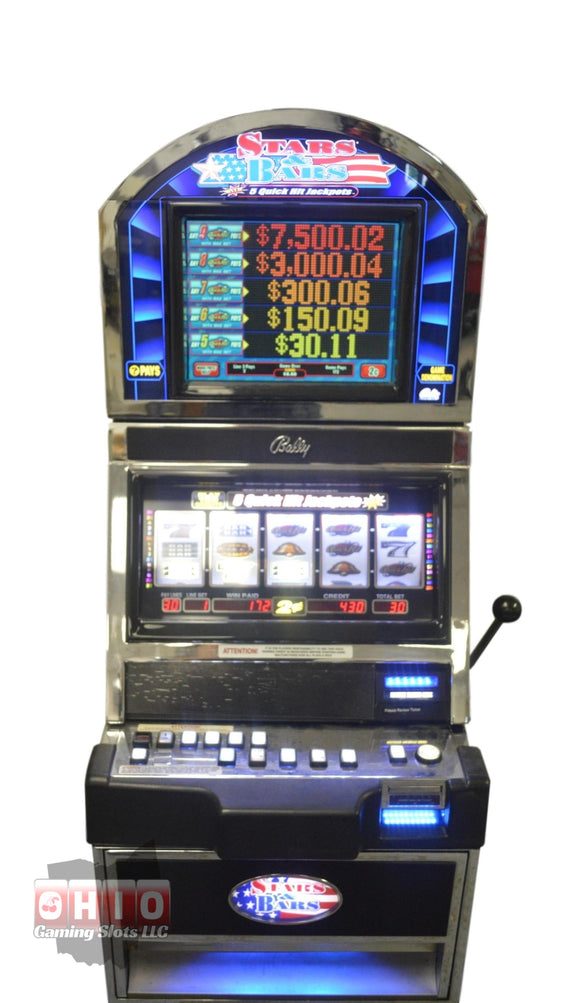 Bally Alpha 1 S9000 Star and Bars 5 reel