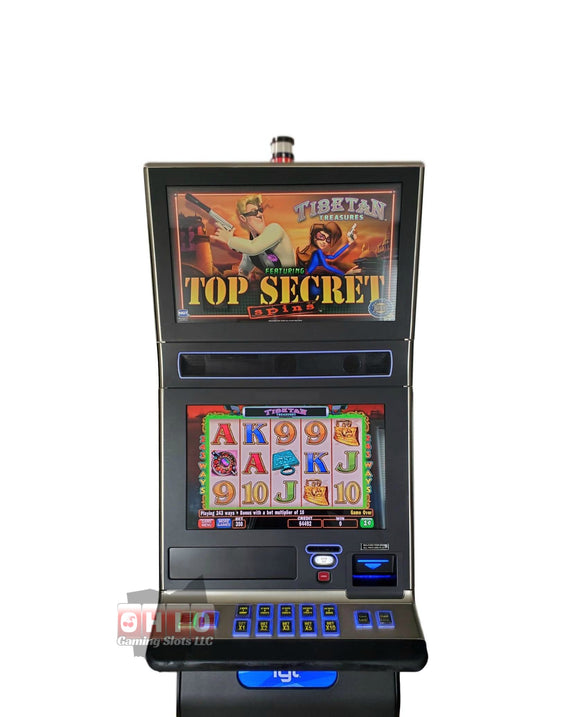 IGT G23 Tibetan Treasures Top Secret Spin