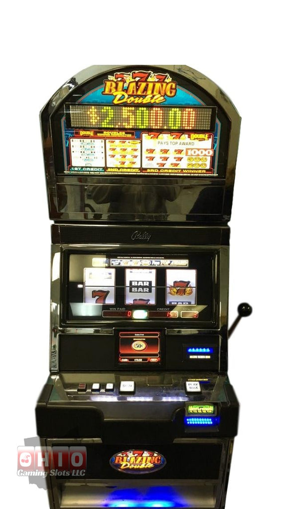 Bally Alpha 1 S9000 Blazing Double 7s