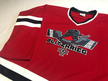 Load image into Gallery viewer, Custom hockey jerseys with the Blitzkrieg logo