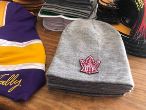 Beanie (Grey) with a Hip crest / logo $29